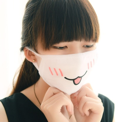 6pcs-Lot-Japan-Emoticon-Fashion-Smiley-Cute-Mouth-Mask-Knop-White-Cotton-Fabric-Face-Mask-PM2