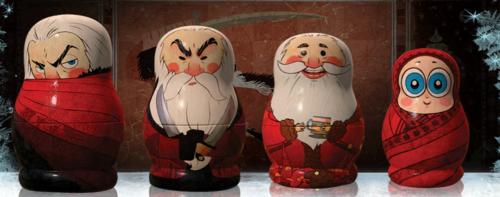 Dramas Kimchi SHINee RotG nesting dolls