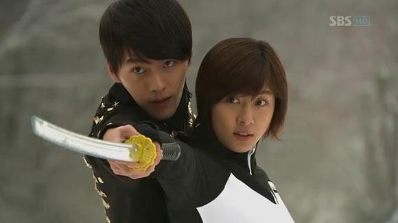 dramas kimchi secret garden joo woon and ra im sword